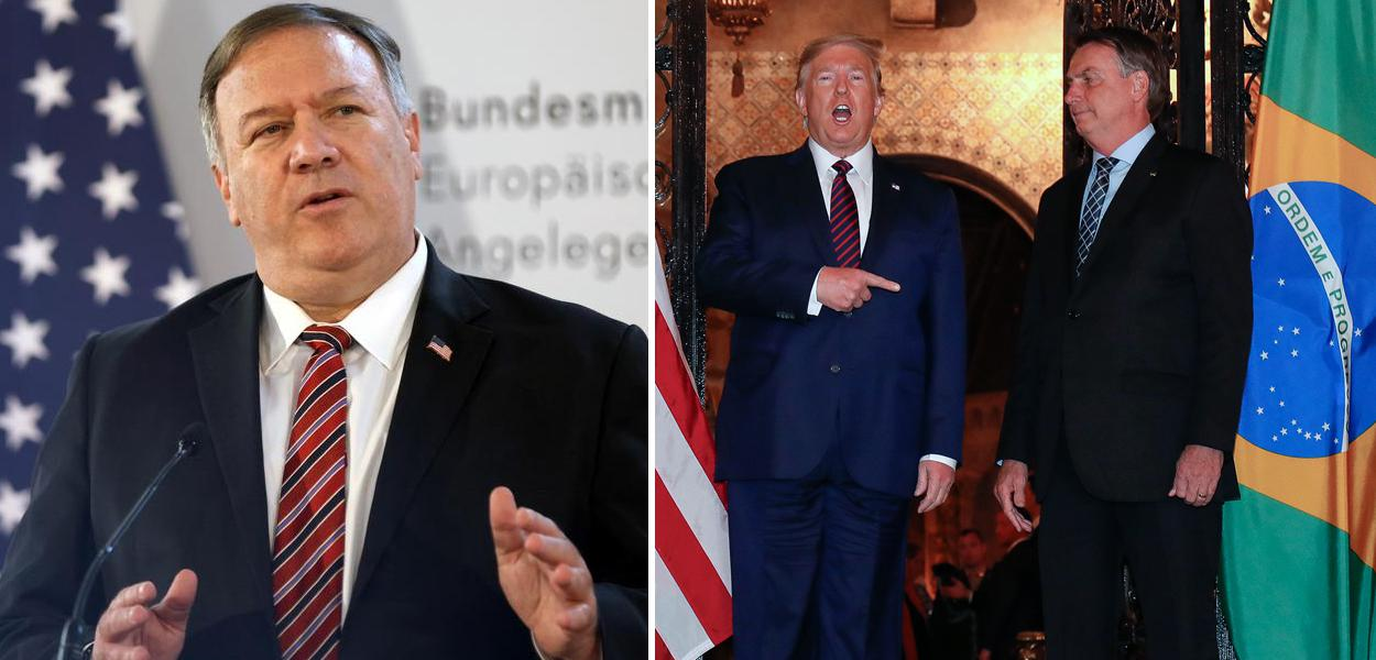 Mike Pompeo, Trump com Bolsonaro