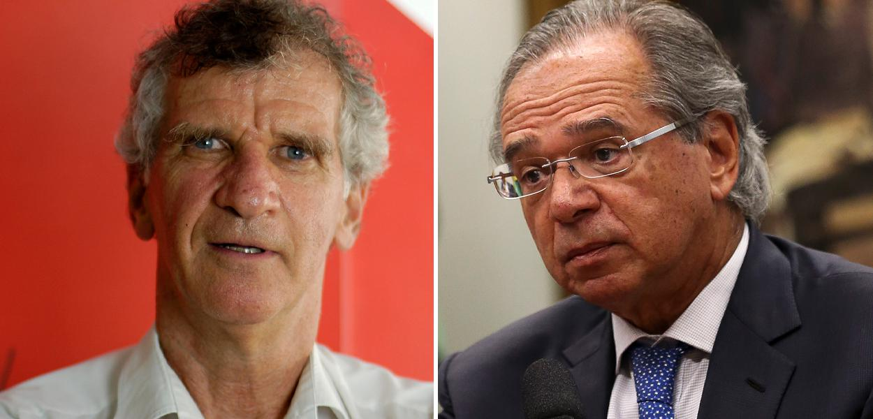 Paulo Kliass e Paulo Guedes
