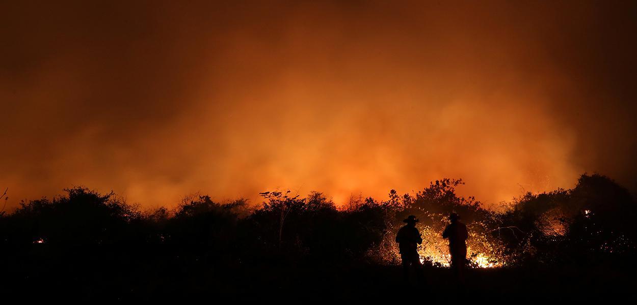 Incêndios atingem o Pantanal 26/08/2020