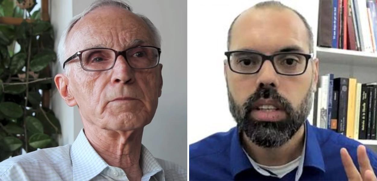 Ex-presidente do STM Sérgio Xavier Ferolla e Allan dos Santos