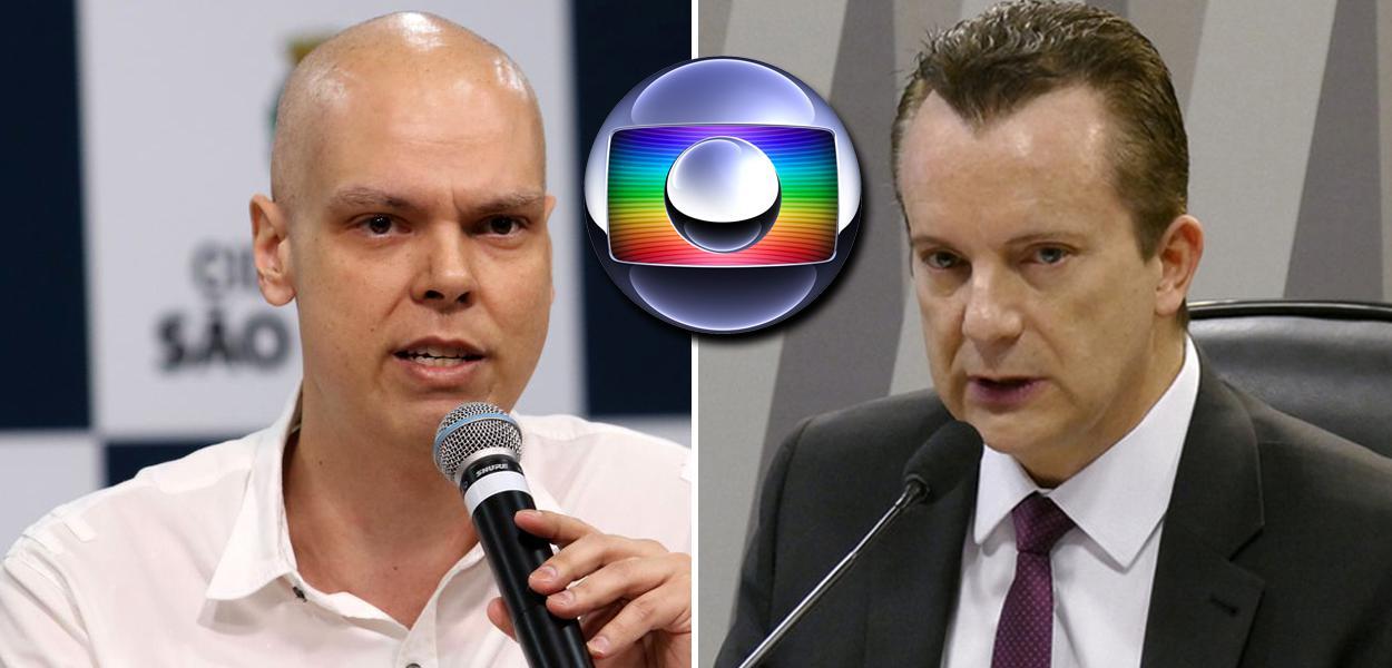 Bruno Covas e Russomanno