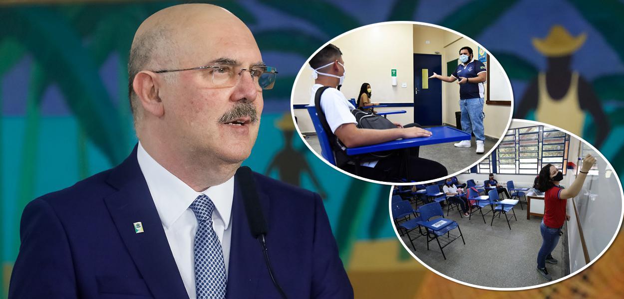 Milton Ribeiro e aulas durante a pandemia do coronavírus