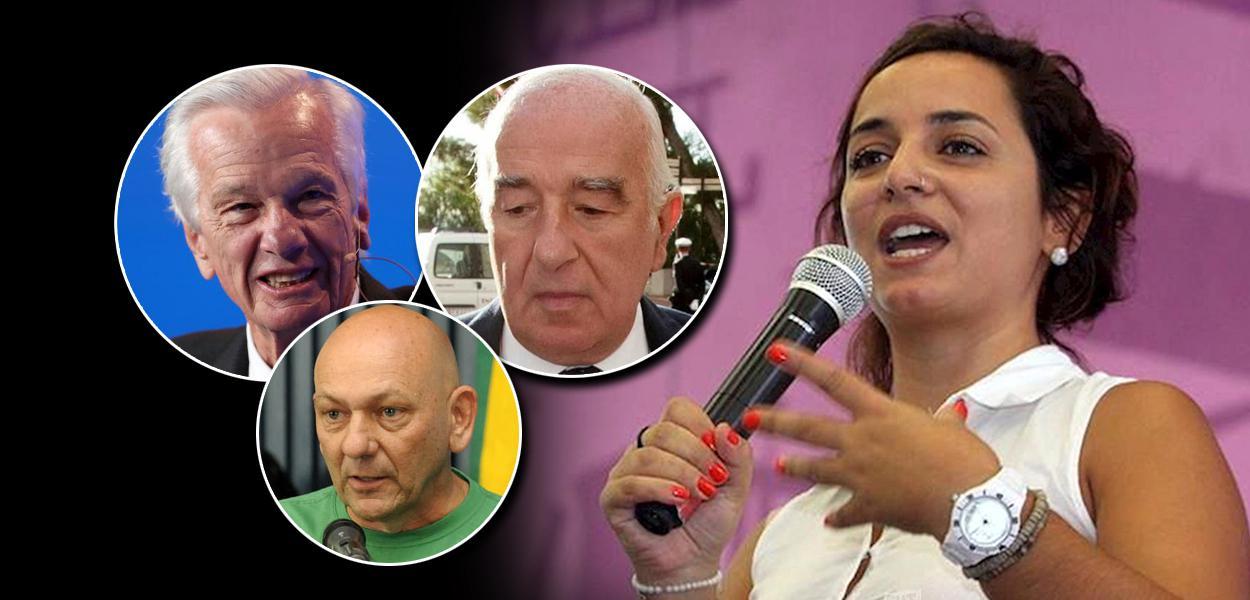 Jorge Paulo Lemann, Joseph Safra, Luciano Hang e Juliane Furno