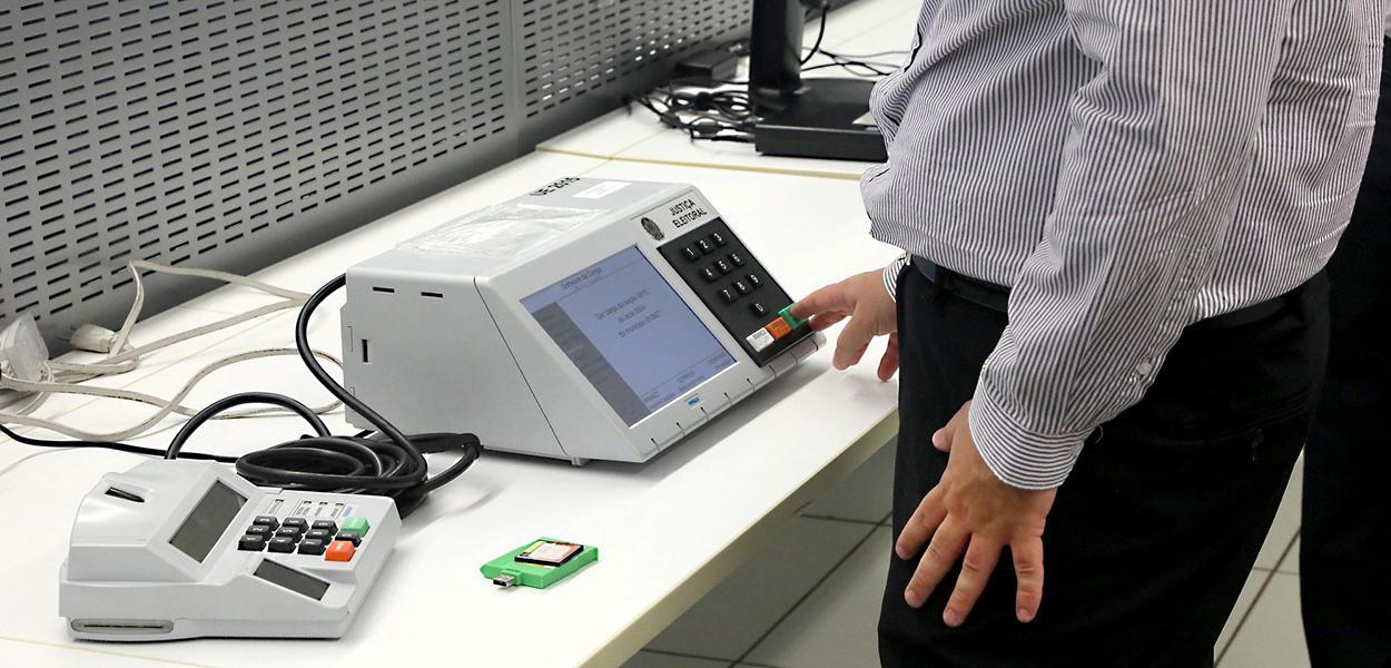 Ministério Público Federal testa o código fonte do sistema eletrônico da Urna. 24 de setembro de 2020