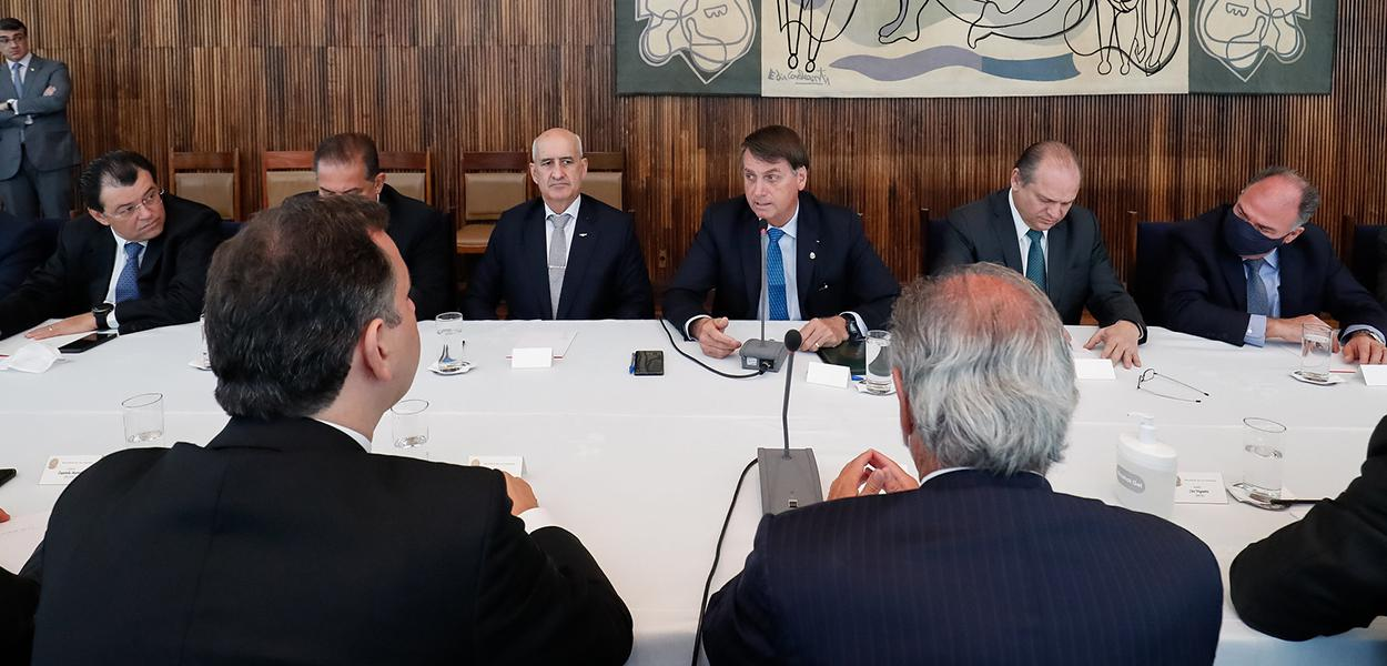 Reunião com ministros e parlamentares