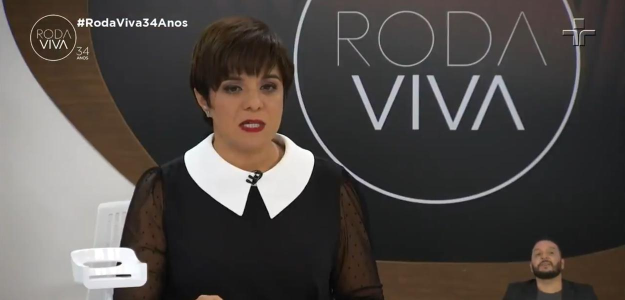 Jornalista Vera Magalhães no Roda Viva