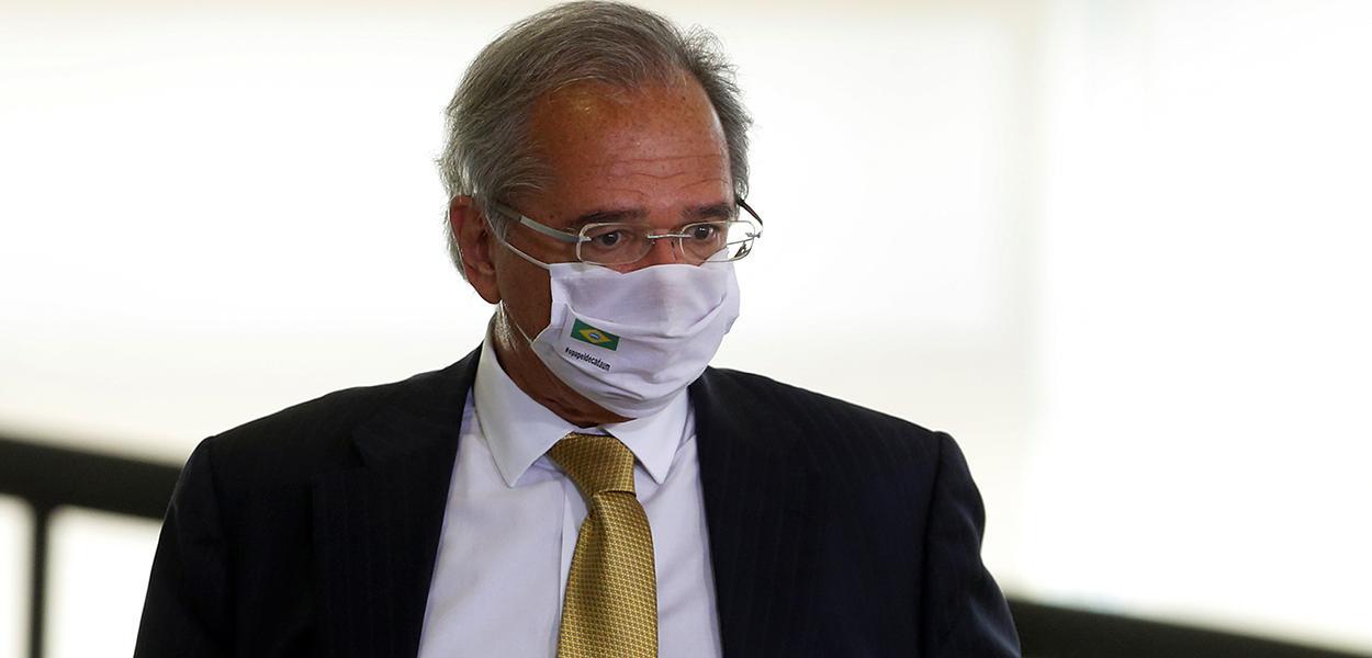 Ministro da Economia, Paulo Guedes, participa de evento no Palácio do Planalto 16/09/2020