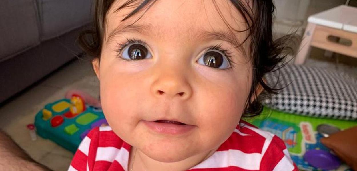 Criança no DF tem AME, doença degenerativa rara