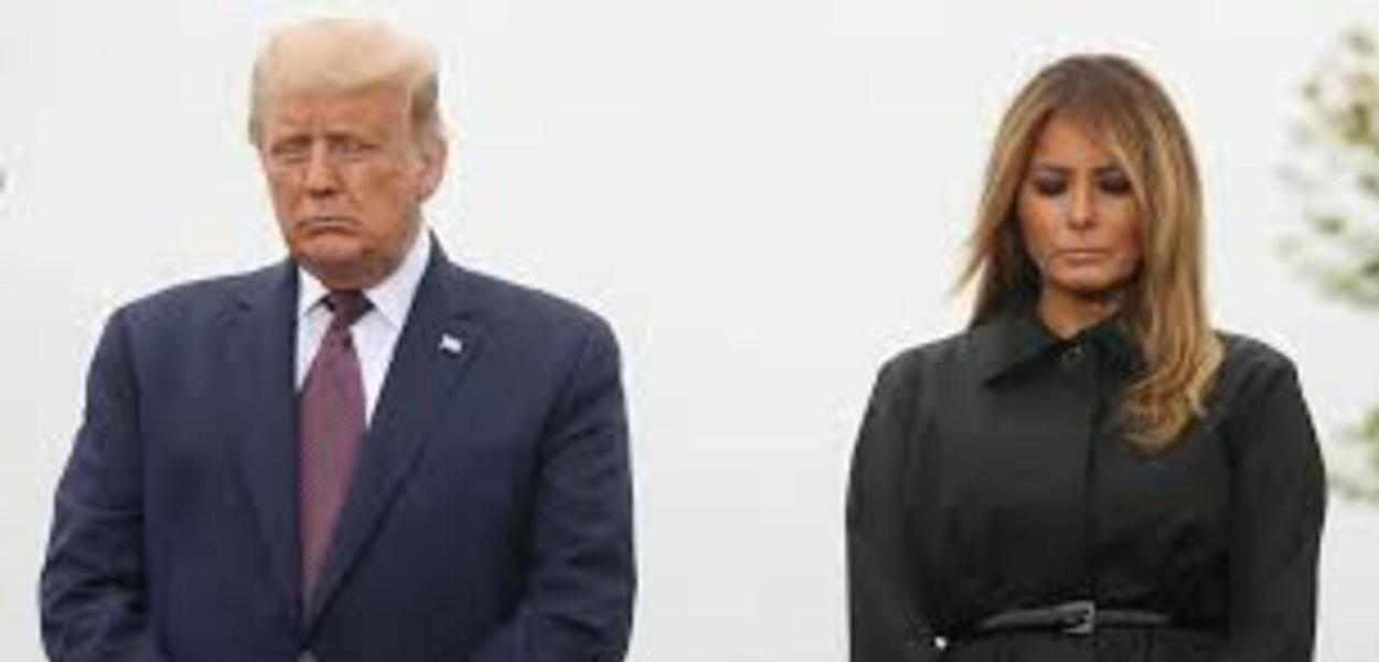 Donald e Melania Trump testam positivo para Covid-19