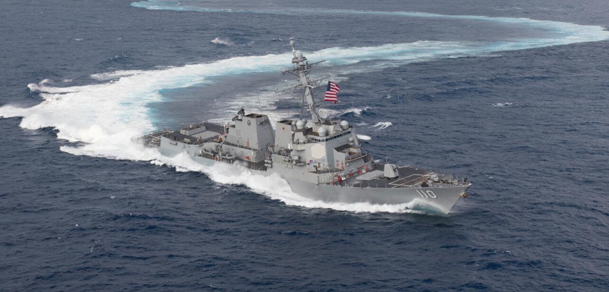 Navio de guerra dos EUA se aproxima da Venezuela sob pretexto de combater narcotráfico