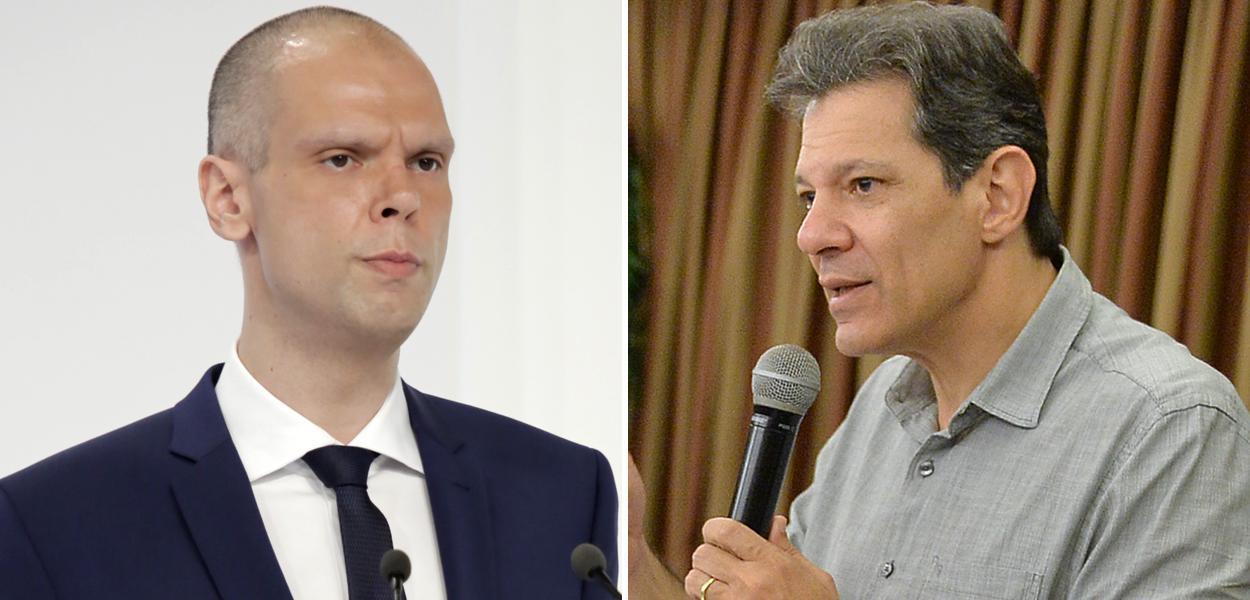 Bruno Covas e Fernando Haddad