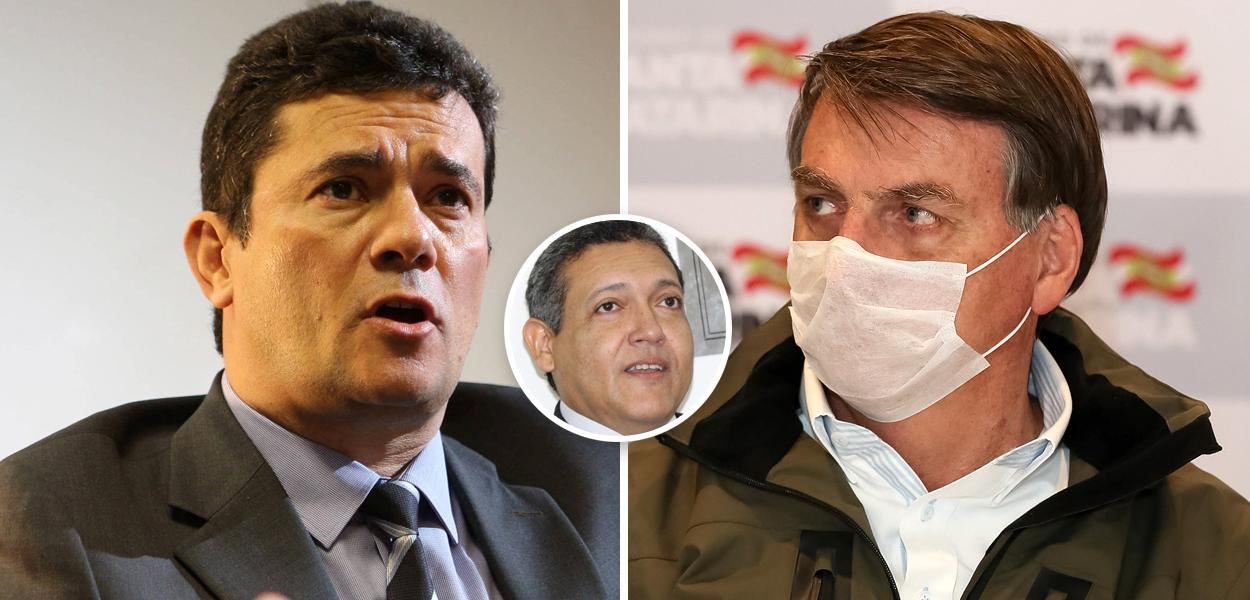 Sérgio Moro, Kassio Nunes e Bolsonaro
