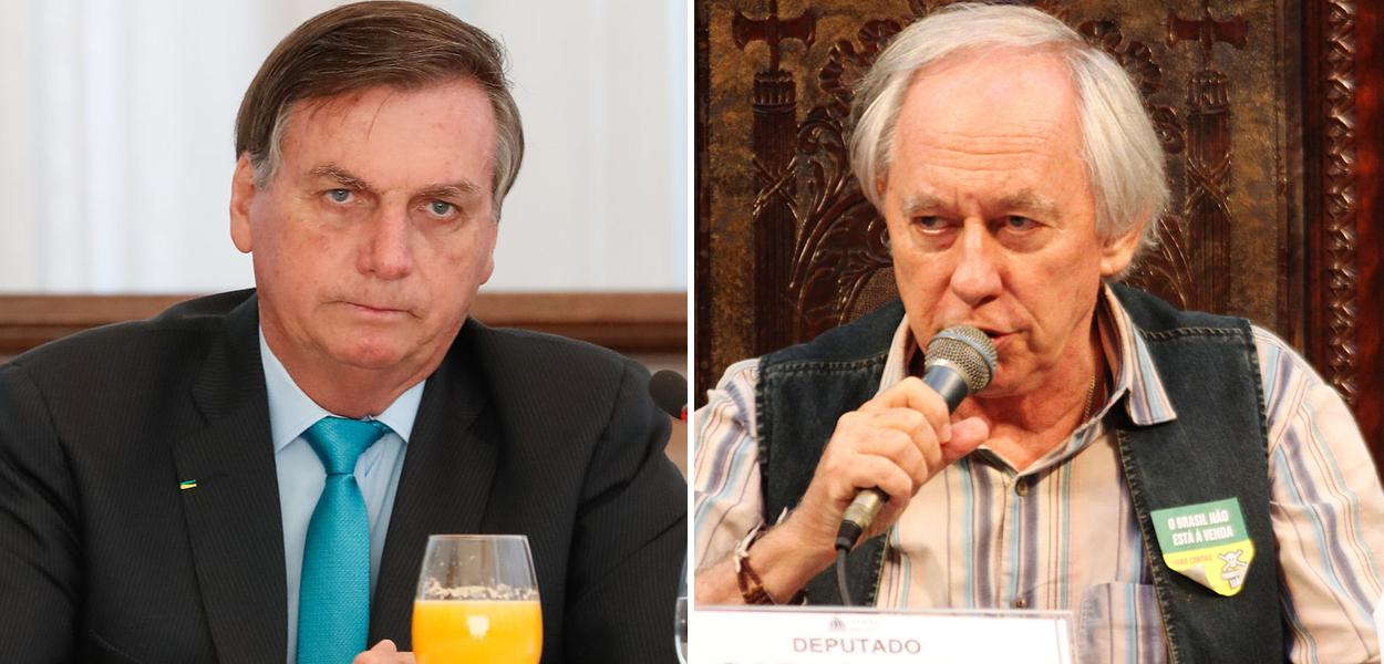 Jair Bolsonaro e Carlos Minc