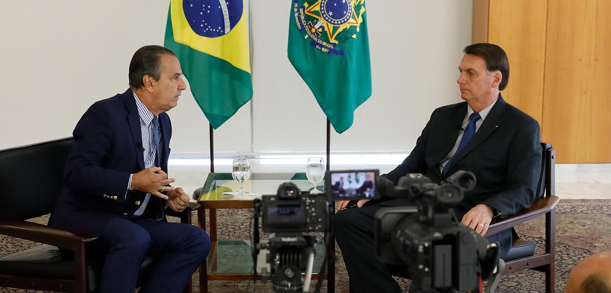 Silas Malafaia e Jair Bolsonaro