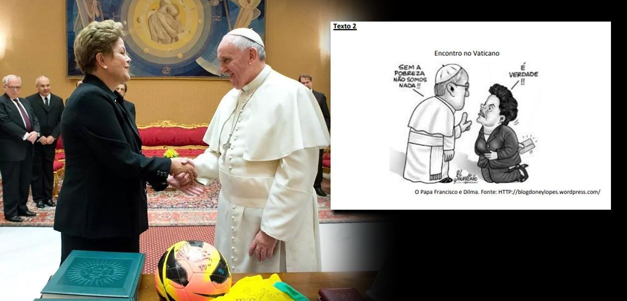 Dilma Rousseff e Papa Francisco