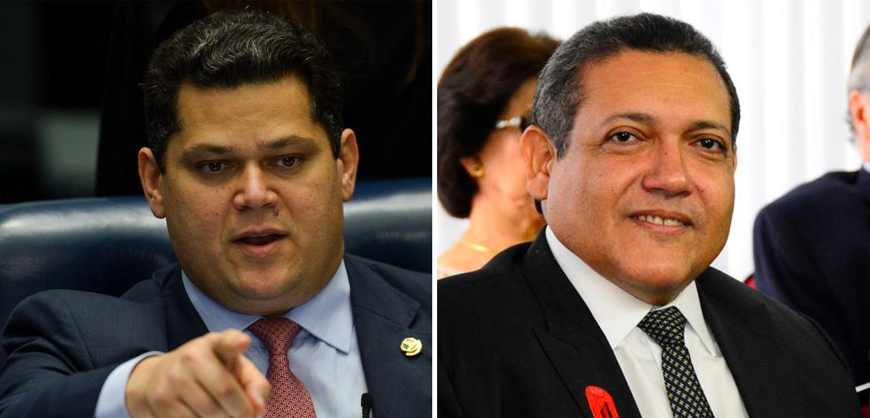 Davi Alcolumbre e Kassio Nunes