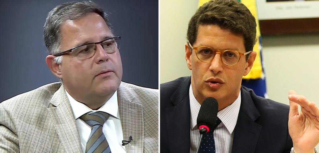 Luís Costa Pinto e Ricardo Salles
