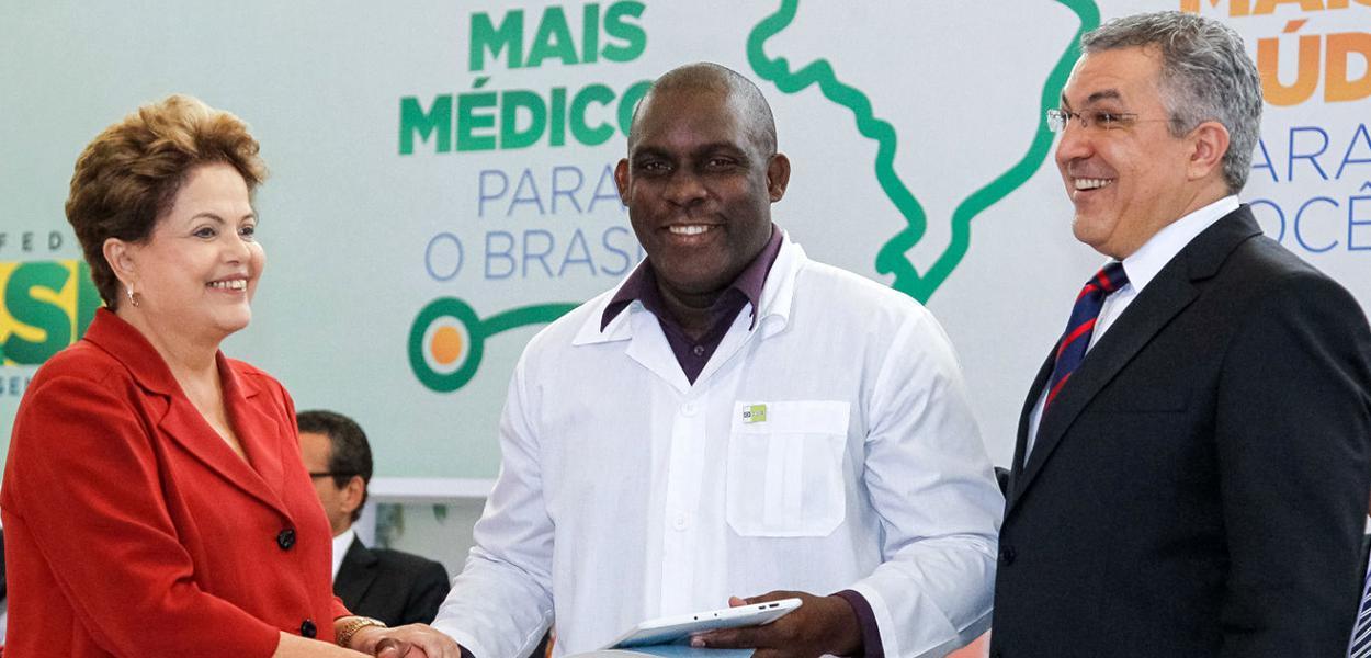 Dilma Rousseff e Alexandre Padilha