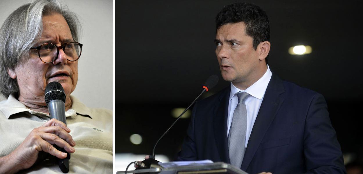 Paulo Moreira Leite e Sérgio Moro