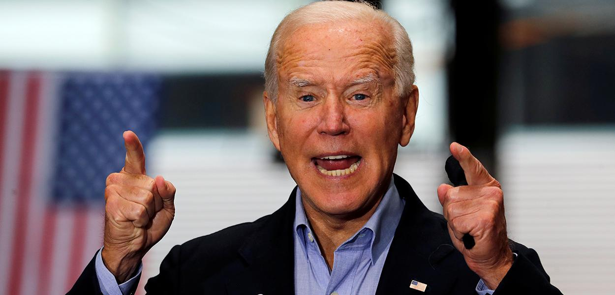 Joe Biden durante evento de campanha em Pittsburgh 30/09/2020