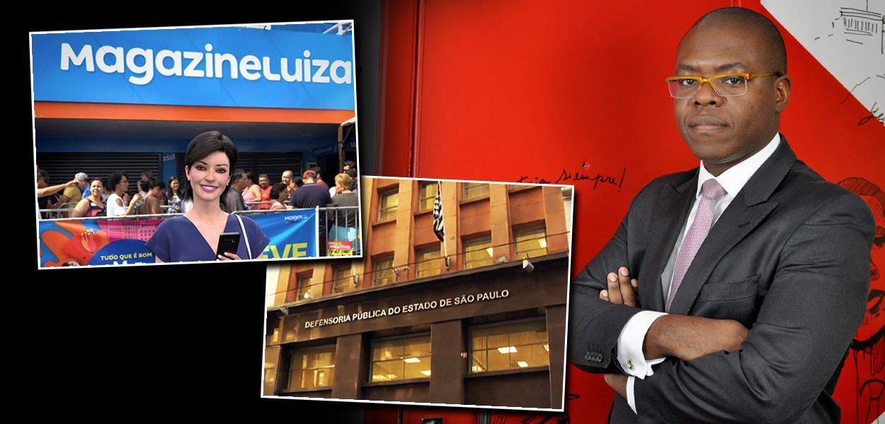 Magazine Luiza, DPU e Silvio Almeida
