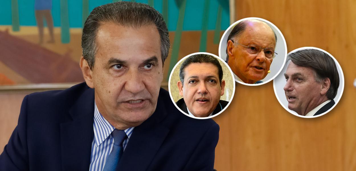 Silas Malafaia, Kassio Nunes, Edir Macedo e Bolsonaro