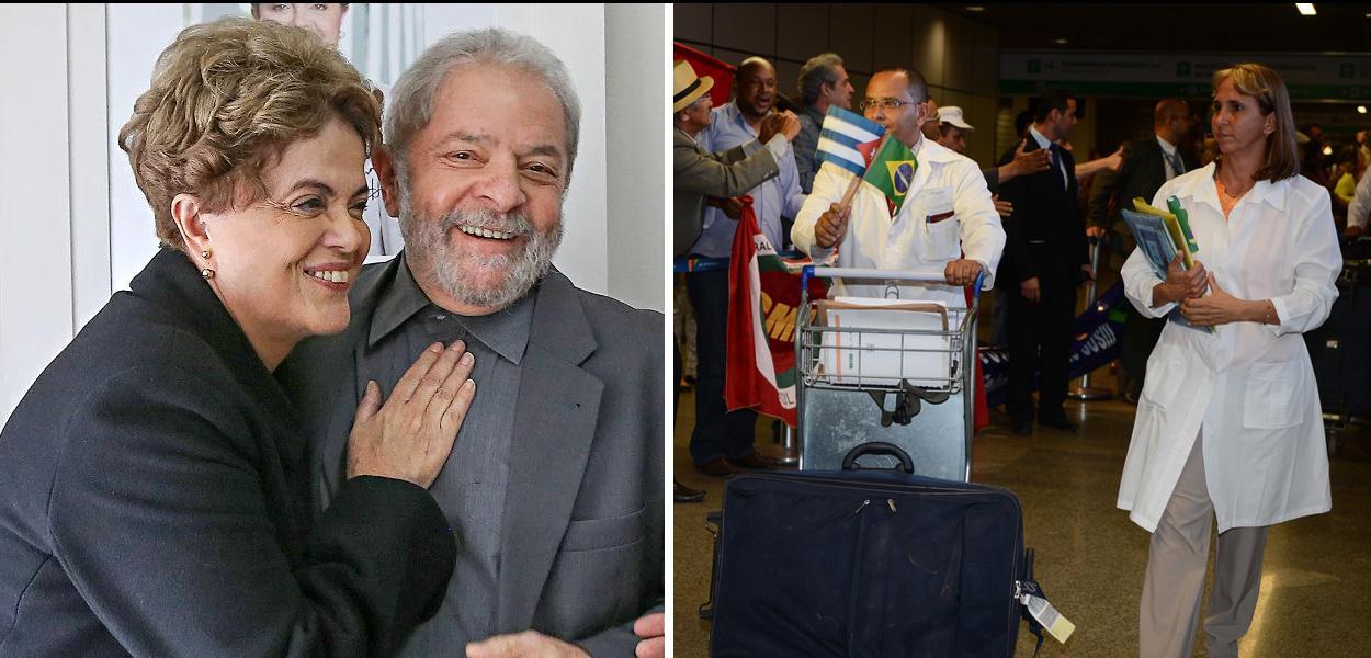 médicos cubanos - Dilma - lula