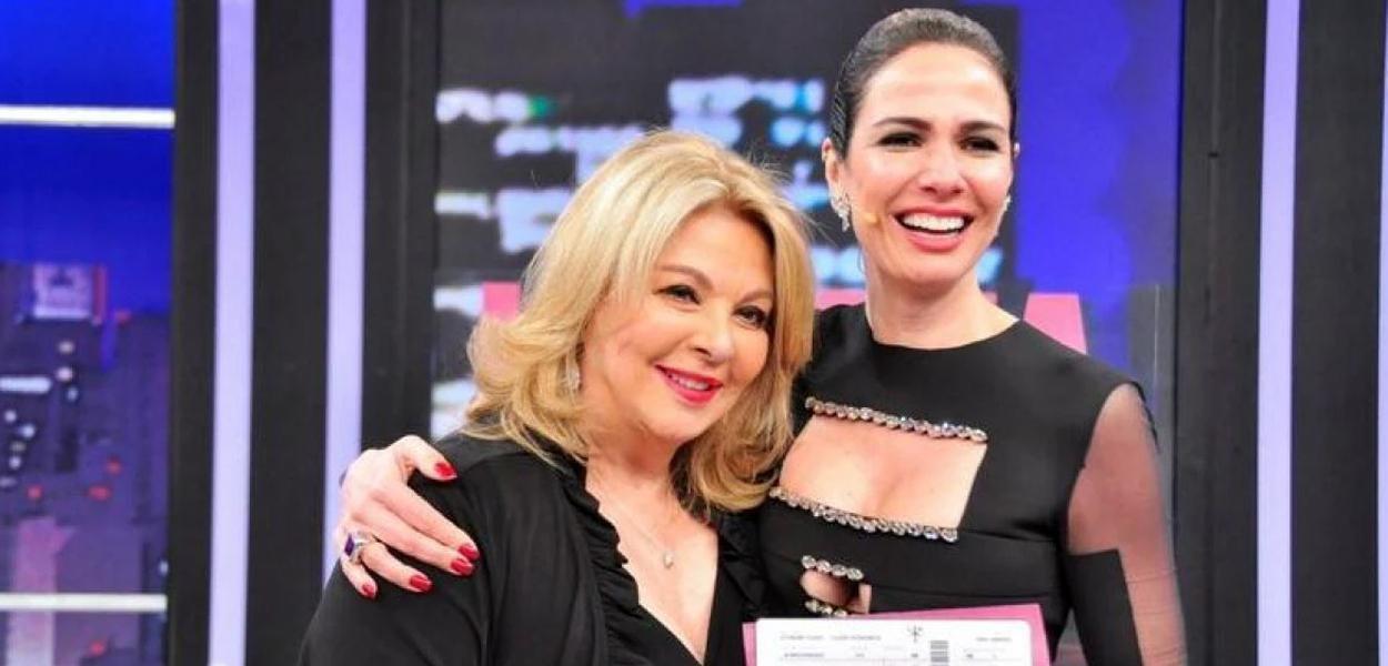 Mãe da apresentadora Luciana Gimenez sofre golpe