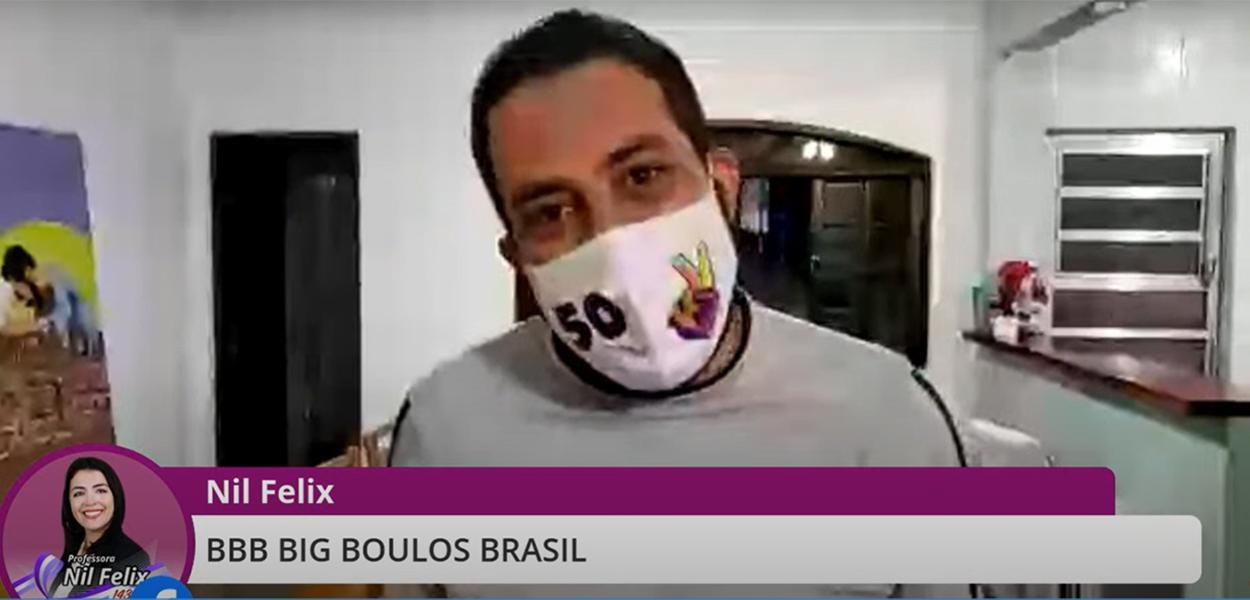 Guilherme Boulos em live