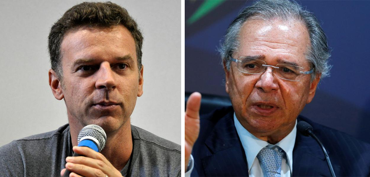 Eduardo Moreira e Paulo Guedes