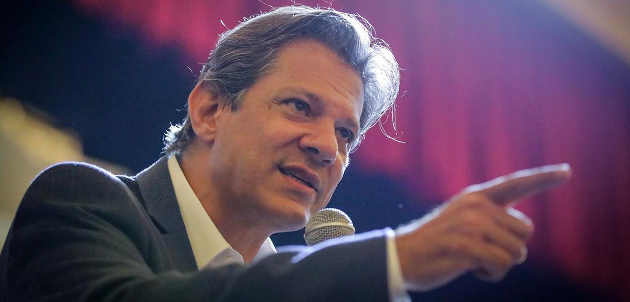 Fernando Haddad, aposta do PT para 2022