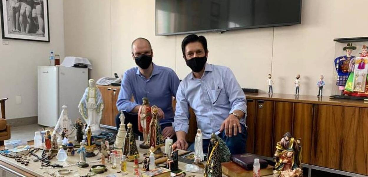 Bruno Covas e Ricardo Nunes