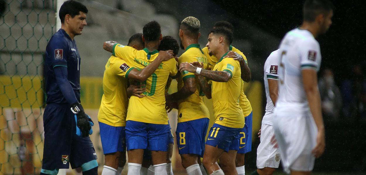 Brasil x Bolívia pela primeira rodada das Eliminatórias da Copa do Mundo de 2020.