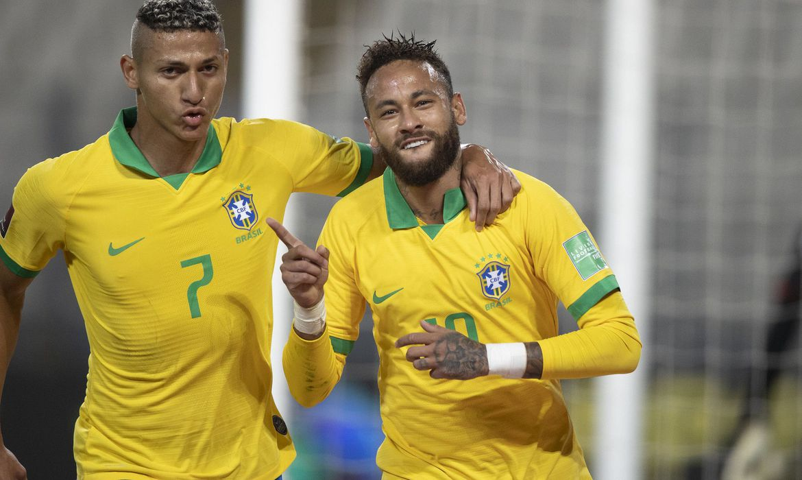 Richarlison e Neymar