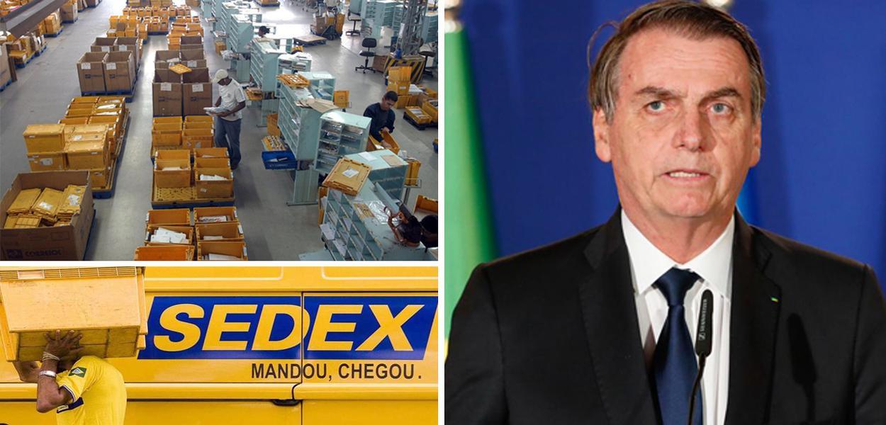 Governo Bolsonaro já tem pronto o projeto para a privatização dos Correios