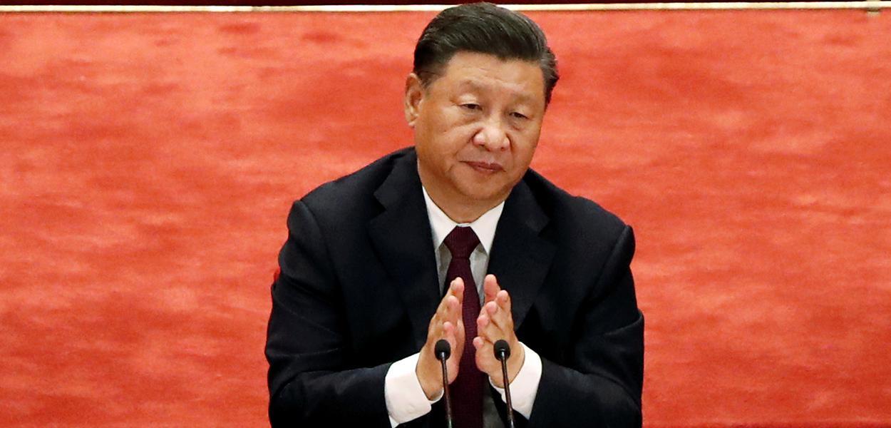 Presidente da China, Xi Jinping, em Pequim