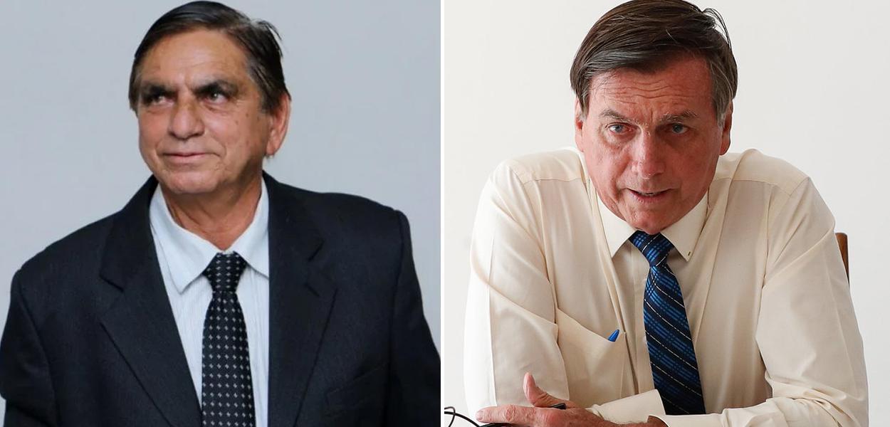 Enaldo Rodrigues Araújo e Jair Bolsonaro