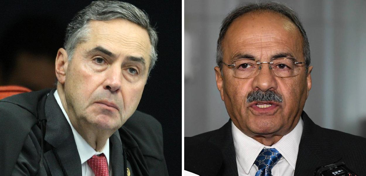 Luís Roberto Barroso e Chico Rodrigues