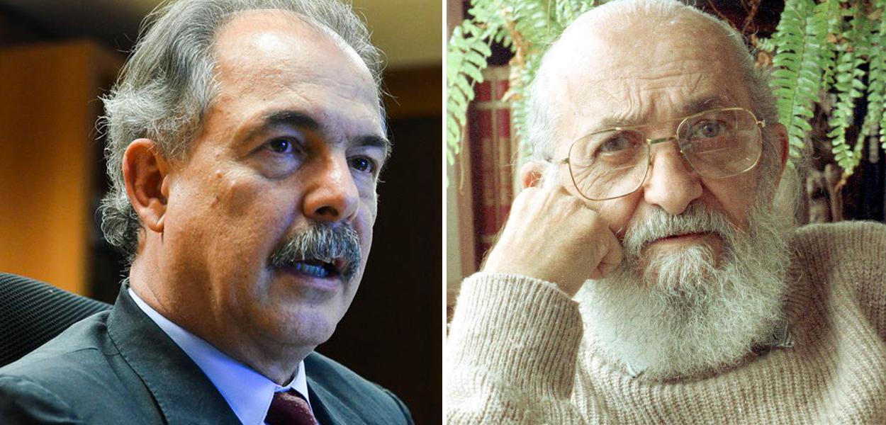 Aloizio Mercadante e Paulo Freire