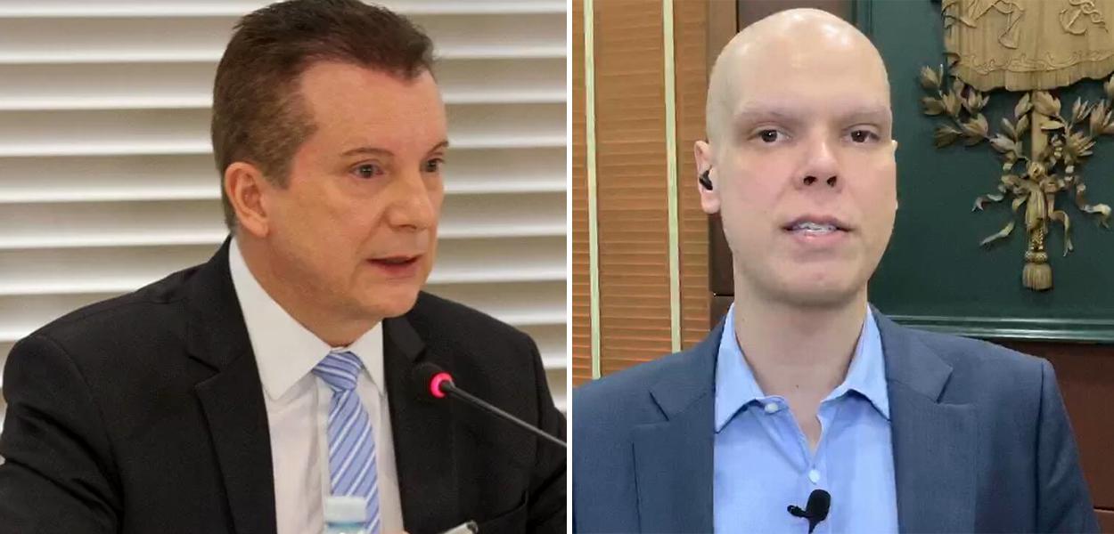 Celso Russomanno e Bruno Covas