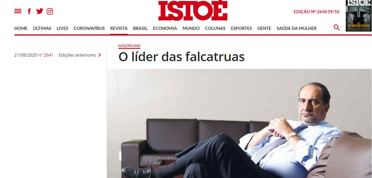 Reportagem da IstoÉ sobre Alexandre Kalil