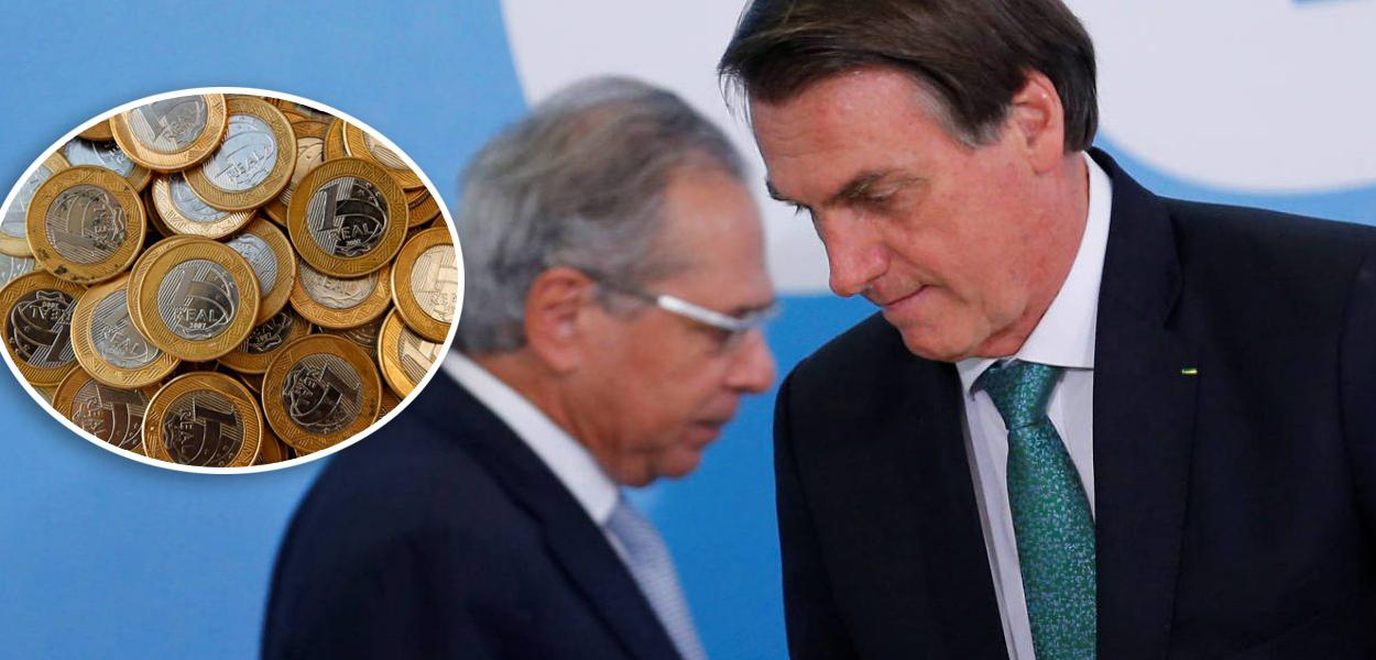 Medes de 1 real, Paulo Guedes e Bolsonaro