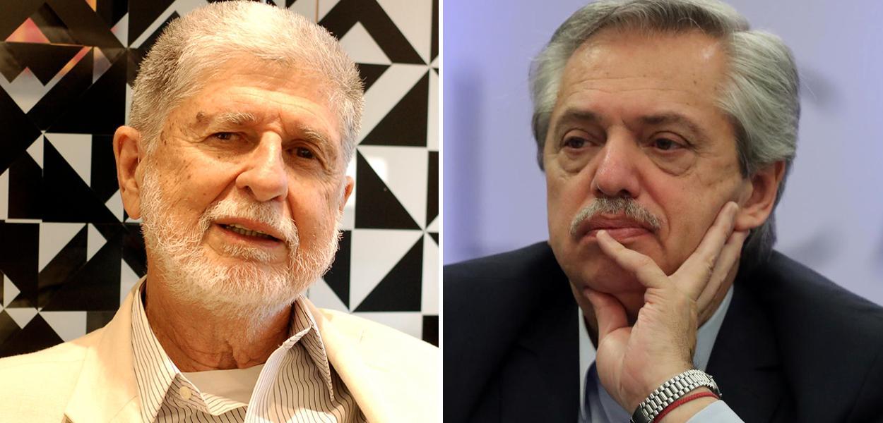Celso Amorim e Alberto Fernández