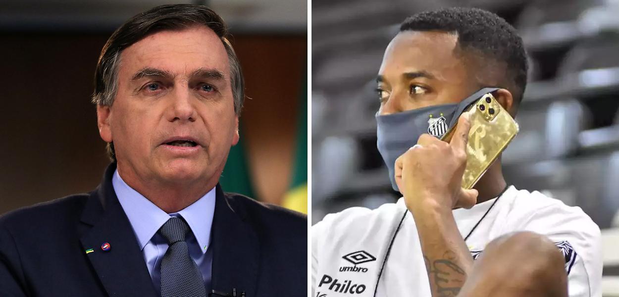 Jair Bolsonaro e Robinho