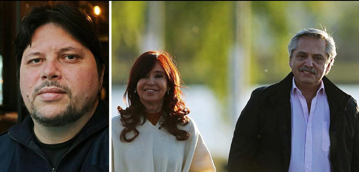 Rogério Tomaz - Cristina Kirchner - Alberto Fernández