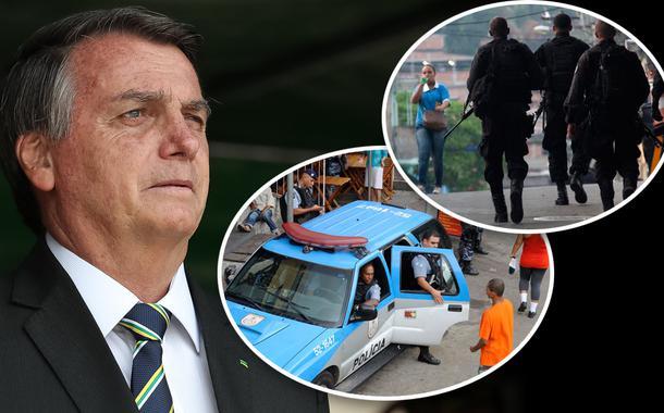Jair Bolsonaro e polícia do Rio de Janeiro