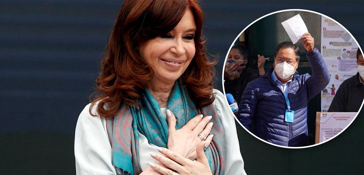 Cristina Kirchner e Luis Arce