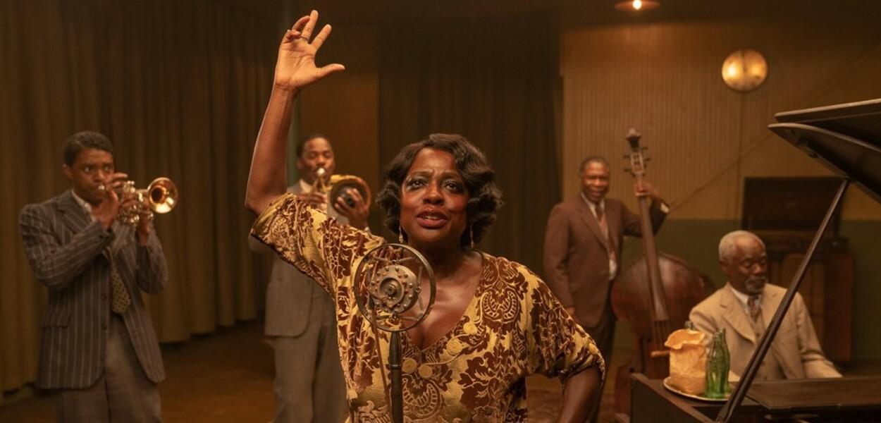 Chadwick Boseman e Viola Davis