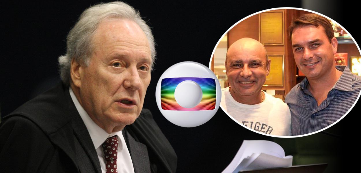 Ricardo Lewandowski, símbolo da Globo, Fabrício Queiroz com Flávio Bolsonaro
