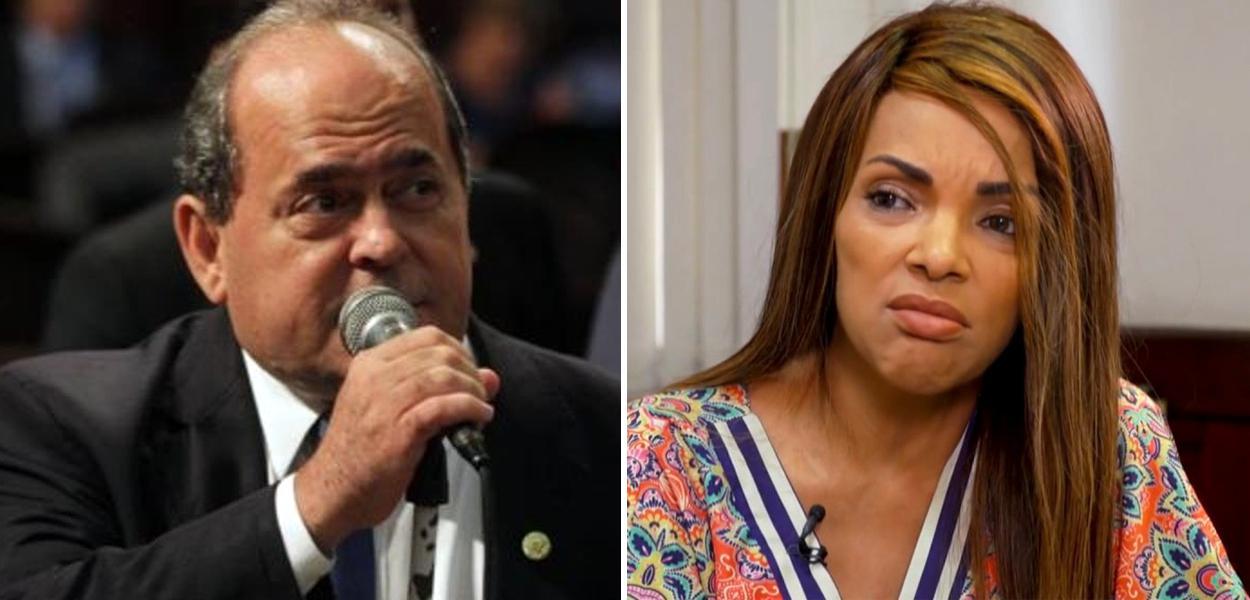 Ex-deputado Pedro Augusto (PSD) e Flordelis